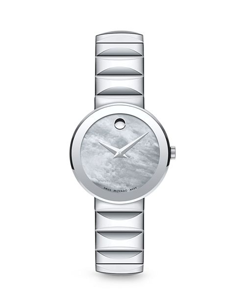 Movado - Mother-Of-Pearl Museum Dial Watch, 26mm