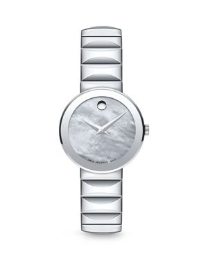 Movado Mother-Of-Pearl Museum Dial Watch, 26mm