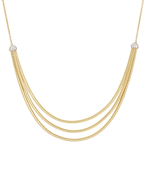 Click here for Marco Bicego 18K Yellow Gold Cairo Three Strand Ne... prices