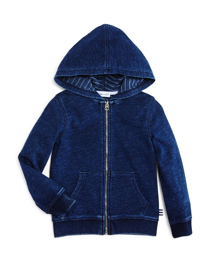 Splendid - Boys' French Terry Lined Double Knit Hoodie - Little Kid