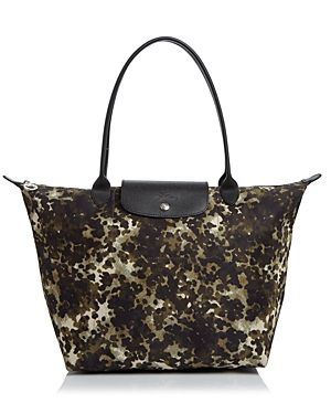 Longchamp Medium Le Pliage Neo Fantaisie Shoulder Tote