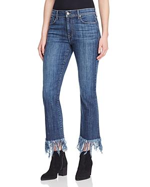 Pistola Tallis Fringe Hem Jeans in Shy Blue - 100% Exclusive