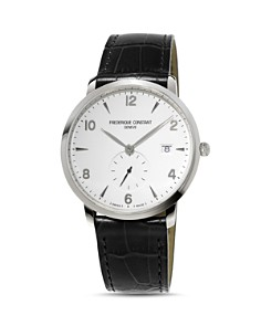 Frederique Constant Classics Watch with Leather Strap, 38.5mm - Bloomingdale's_0