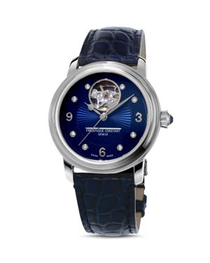 Frederique Constant Heart Beat Watch with Diamonds, 34mm