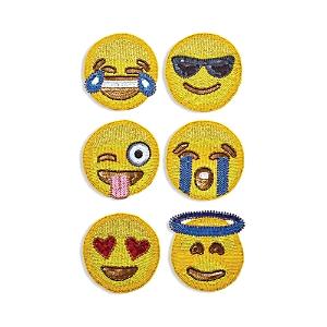 Kim Seybert Emoji Coaster, Set of 6