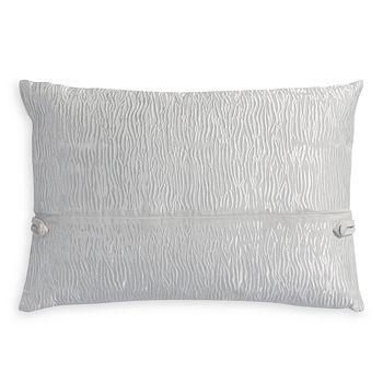 "Portico - Park Ave Animal Stripe Embroidered Decorative Pillow, 18"" x 12"""