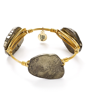 Bourbon & Boweties Pyrite Bangle