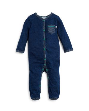 Splendid Boys' Stripe Trimmed Footie - Baby