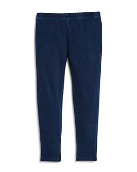 Splendid - Girls' Indigo Knit Leggings - Baby