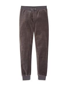 Juicy Couture Black Label Girls' Zuma Velour Jogger Pants, Big Kid - 100% Exclusive - Bloomingdale's_0