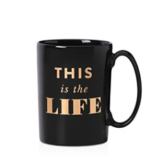 kate spade new york Simply Sparkling This is the Life Mug - Bloomingdale's_0