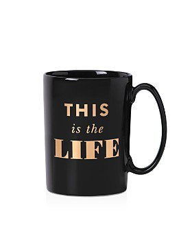 kate spade new york - Simply Sparkling This is the Life Mug
