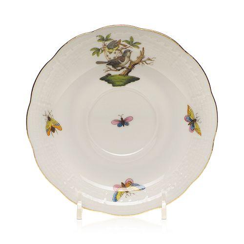 Herend - Rothschild Bird Tea Saucer