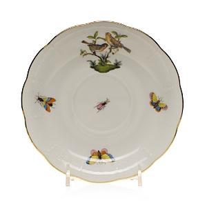 Herend Rothschild Bird Tea Saucer