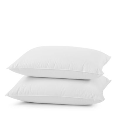 Organic Medium Feather/Down Pillow, Queen