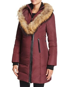 7ef3fce7b8ab Mackage - Kay Lavish Fur Trim Down Coat ...