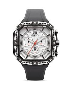 BRERA OROLOGI - Supersportivo Chronograph with Black Diamonds, 46mm