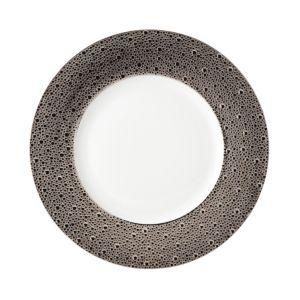 Bernardaud Ecume Platinum Service Plate