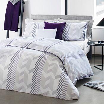 Lacoste - Miami Comforter Set, Full/Queen