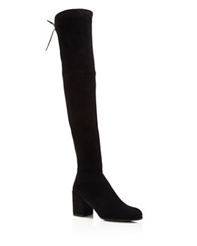 Stuart Weitzman - Women's Tieland Suede Over-the-Knee Boots