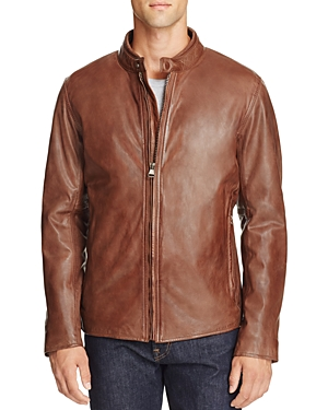 Marc New York Rhinecliff Leather Moto Jacket
