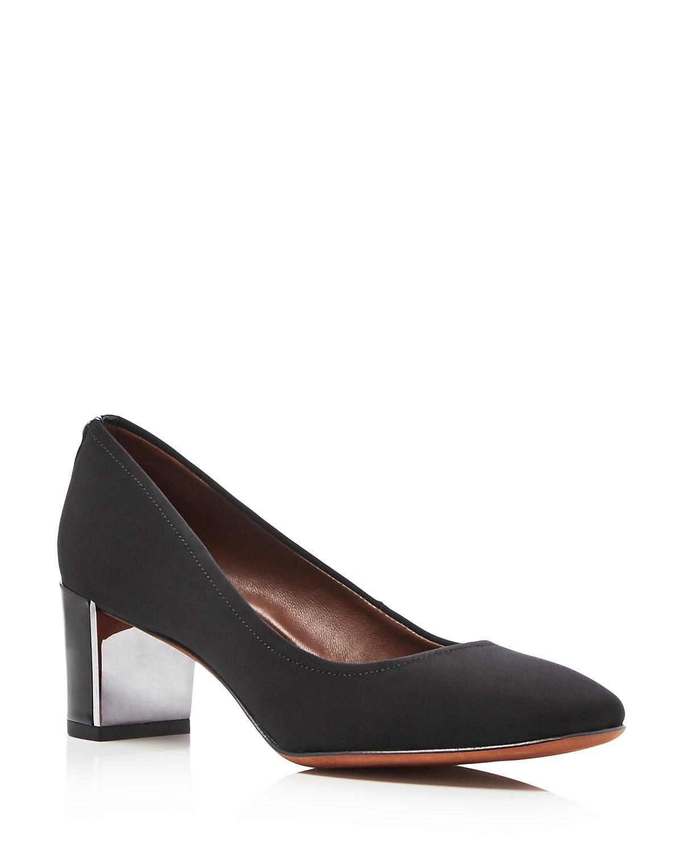 Donald Pliner Corin Block-Heel Pumps Women's Shoes