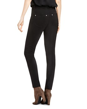 VINCE CAMUTO - Ponte Skinny Jeans in Rich Black