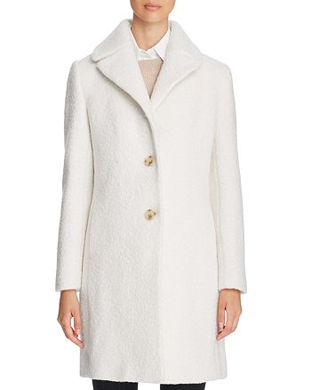 T Tahari - Tessa Single-Breasted Coat