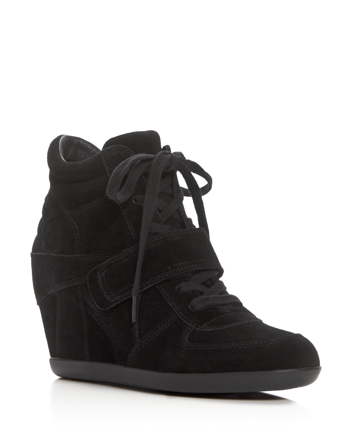 Women's Bowie Lace Up Wedge Sneakers by Ash