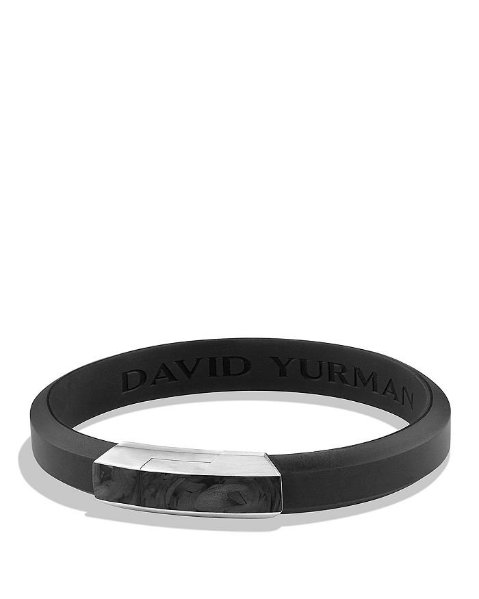 David Yurman Forged Carbon Rubber Id