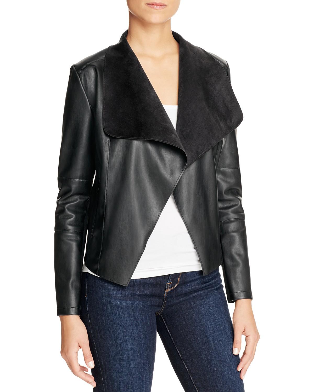 women s jacket draped products womens david lerner contemporary black drapes b asymmetrical