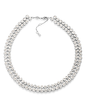 Carolee Pave Collar Necklace, 17