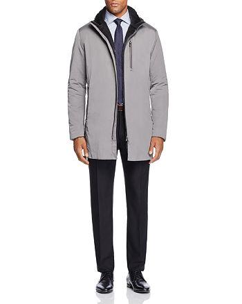 Armani - Coat, Button-Down Shirt & Trousers