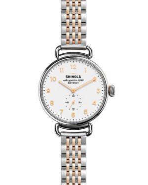 Shinola Canfield Bracelet Watch, 38mm