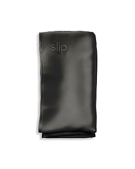 slip for beauty sleep - Silk Pillowcase, Queen
