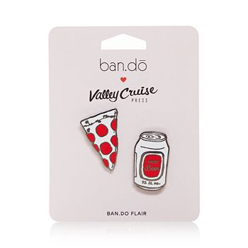 ban.do - Flair Pin, Pizza and Beer