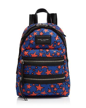 MARC JACOBS - Medium Flocked Stars Print Backpack