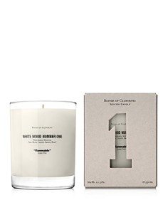 Baxter of California White Wood Number One Candle - Bloomingdale's_0