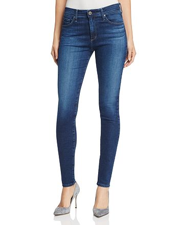AG - Farrah High Rise Skinny in Paradox Destroyed