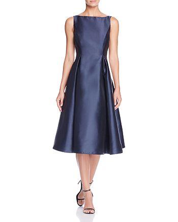 Adrianna Papell - Sleeveless Tea-Length Dress