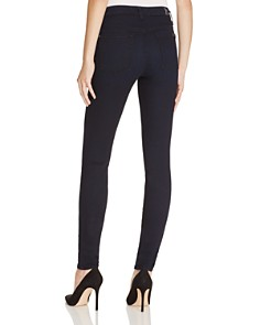 7 For All Mankind - b(air) High Waisted Skinny Jeans in Navy