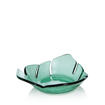 Annieglass - Small Palm Frond Bowl