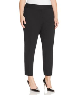Vince Camuto Plus Slim Leg Ankle Pants