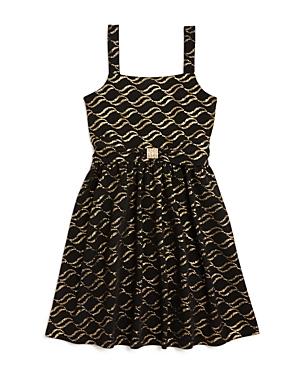 Us Angels Girls Knit Print Dress  Sizes 716
