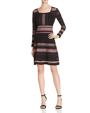 M Missoni Stripe Rib Stitch Dress
