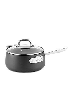 All-Clad - Hard Anodized Nonstick 3.5-Quart Saucepan