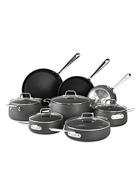 All-Clad - HA1 Hard Anodized Nonstick 13-Piece Cookware Set
