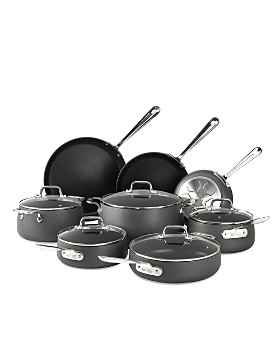 All-Clad - Hard Anodized Nonstick 13-Piece Cookware Set