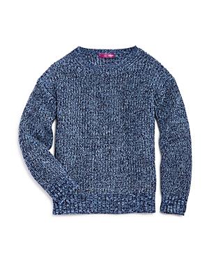 Aqua Girls Marl Knit Sweater Big Kid  100 Exclusive
