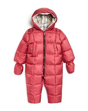 Burberry Girls Skylar Snowsuit  Baby